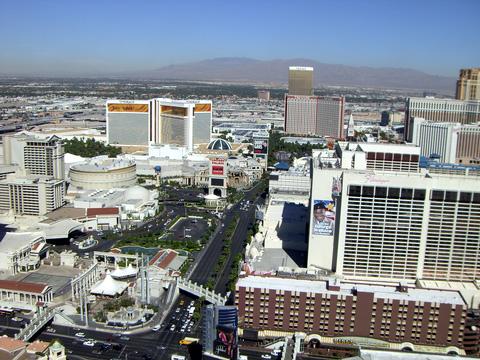 これは偽エッフェル塔からの眺め